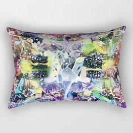 Crow's Paintbrush Rectangular Pillow