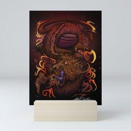 Dragon (Signature Design) Mini Art Print