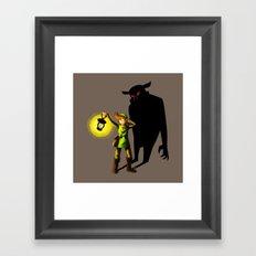 The Hero's Lantern Framed Art Print