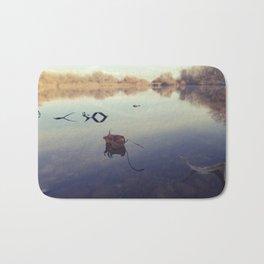 Autmn Pond Bath Mat