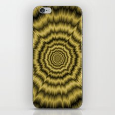 Eye Boggling Explosion in Gold iPhone & iPod Skin