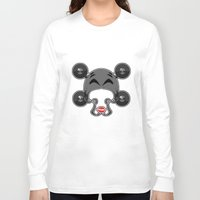 roller derby Long Sleeve T-shirts featuring Roller derby xxx by Andrew Mark Hunter
