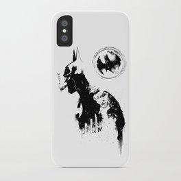 BADMAN iPhone Case