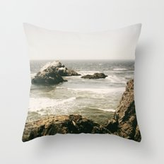 A Fine Day to Exit Throw Pillow