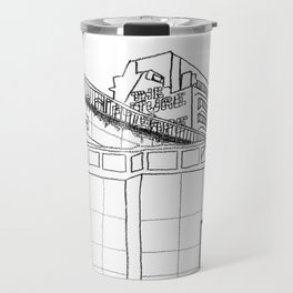 Brussels city - The Future is ... Travel Mug