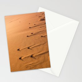 desert structures in the early morning light Stationery Cards