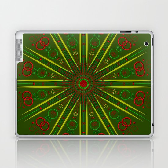 Greens and Reds Laptop & iPad Skin
