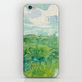 Vincent van Gogh Green Wheat Fields, Auvers 1890 Painting iPhone Skin