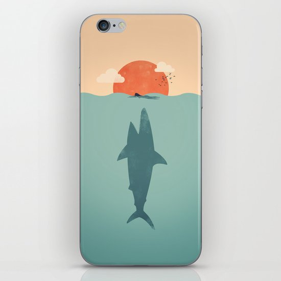Shark Attack  iPhone & iPod Skin