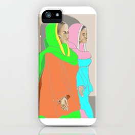 Punjabi Mutiyars 3 iPhone Case
