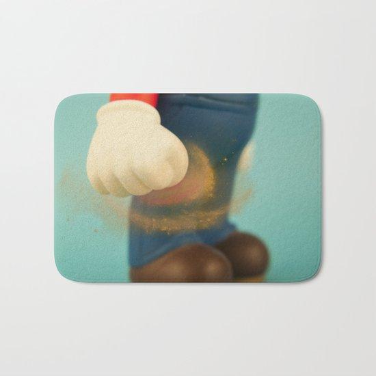 Inner strength in Mario Bath Mat