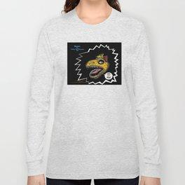 """SHMUT, The Valley-Girl Dinosaur: sez """"Like, Grr, Man Long Sleeve T-shirt"""