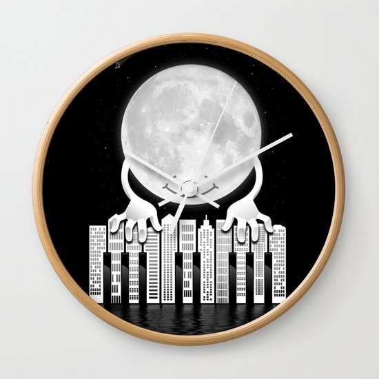 City Tunes Wall Clock