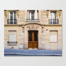 PARIS DOORS: NO. 6 (Paris, France) Canvas Print