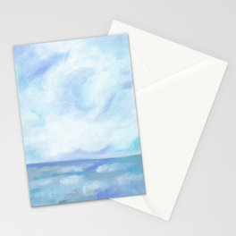 Warm Fall Days - Tropical Ocean Seascape Stationery Cards