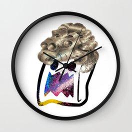 Mrs. Shock Wall Clock