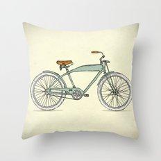 Retro-bicycles (1903) Throw Pillow