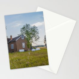 Abandoned House, Fort Clark, ND 1 Stationery Cards