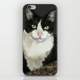 Cat Eightball iPhone Skin
