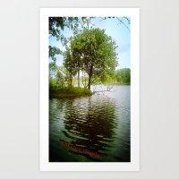 Lake Alice Art Print