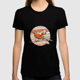 after summer / birds T-shirt