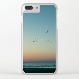 (Sun is) Gone Clear iPhone Case