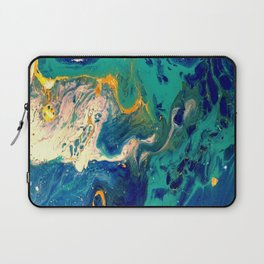 blue and gold Laptop Sleeve