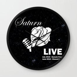 Saturn Live Wall Clock