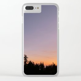Timberline Lodge Clear iPhone Case