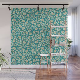Paper Flowers Wall Mural