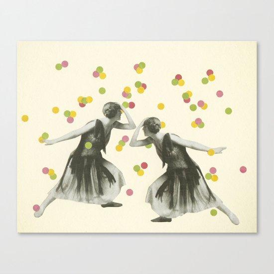 Dance : Gemini Canvas Print