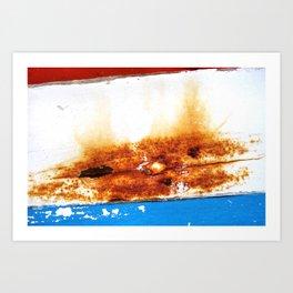 Leaned Art Print