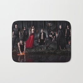 The Vampire Diaries Cast Bath Mat