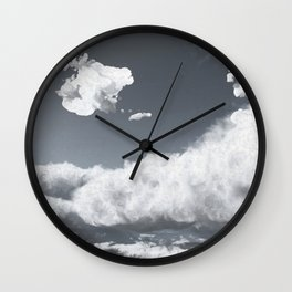 Sahara Dust 2018 (Cloud series #15) Wall Clock