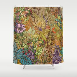 Floral Garden Shower Curtain