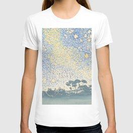 Landscape with Stars by Henri-Edmond Cross 1905–1908, French T-shirt