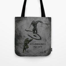 Running Riot - Halo Tote Bag