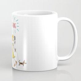 multitasking lady Coffee Mug