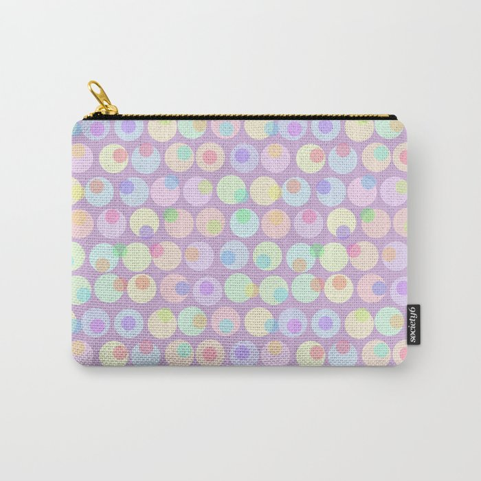 Pastel Abstracts 1 Carry-All Pouch