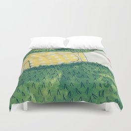 look at me not Duvet Cover