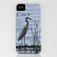 Blue Heron iPhone (4, 4s) Slim Case