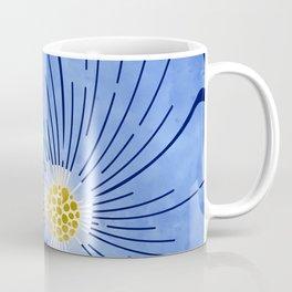 Morning Glory / blue floral art Coffee Mug