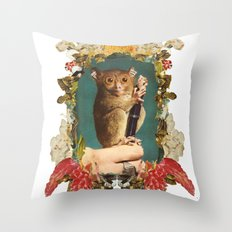 Freaky Zeaky Throw Pillow