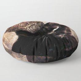 Black Cat - Queen Cora Floor Pillow