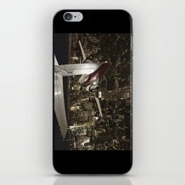Fly me to New York iPhone Skin