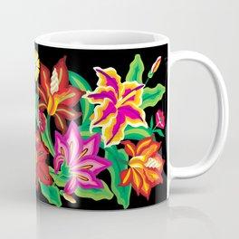 Mexican Exotic Flowers Coffee Mug