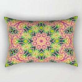 BBQSHOES: Kaleioscopic Fractal Mandala 1543K2 Rectangular Pillow