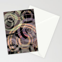 PATTERN-8 [gentle circles] Stationery Cards