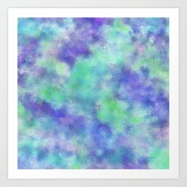 Alone, But Not Lonely: Abstract Painting Art Print
