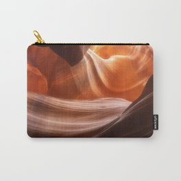 Swirls in Antelope Canyon - Page, Arizona Carry-All Pouch